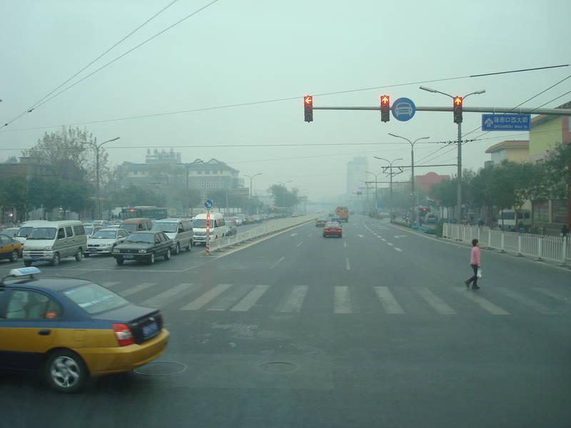 Symbolfoto für die Luftverschmutzung in Linfen