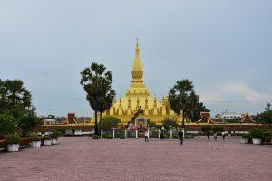 Der Pha That Luang ist das spirituelle Zentrum der Hauptstadt Vientiane.